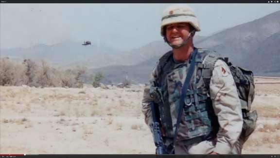 Lt. Col. Blake Settle.