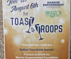 Warrior Empowerment Foundation Toast to Troops