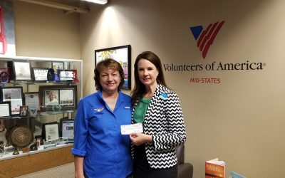 Volunteer of America Veterans Program Donation!